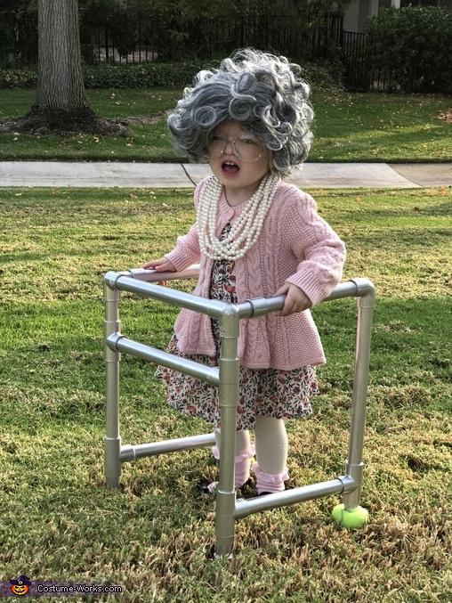 GET OFF MY LAWN, Lil Ole Granny Costume