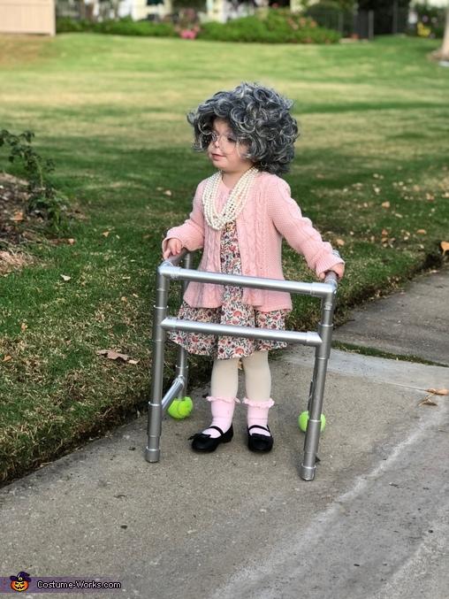 Excuse me, Lil Ole Granny Costume
