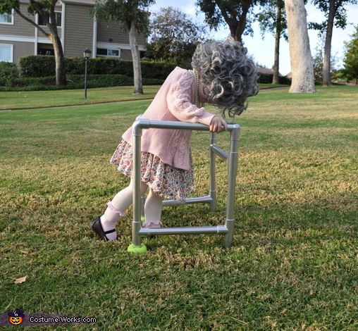 It's been a long day..., Lil Ole Granny Costume