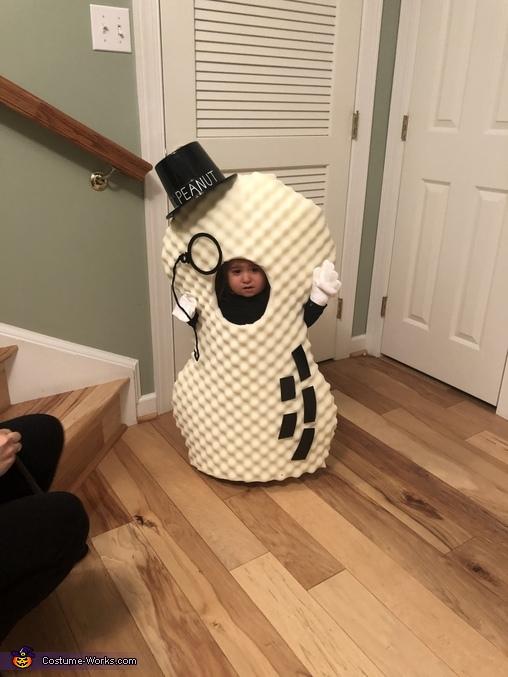 Lil' Peanut Homemade Costume
