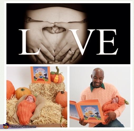Lil' Pumpkin Baby Costume