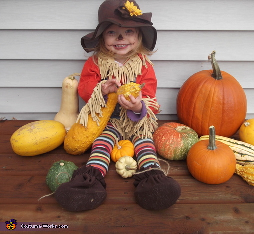 Lil' Scarecrow Baby Costume