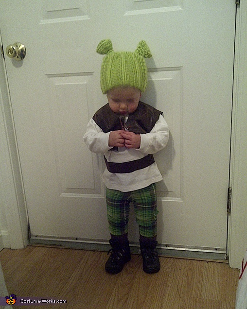 Shrek Baby Costume