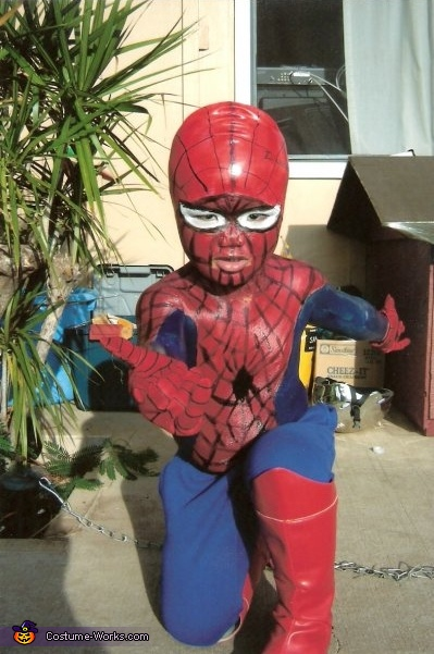 Lil Spiderman Costume