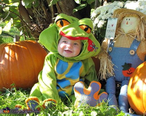 Tree Frog Baby Costume