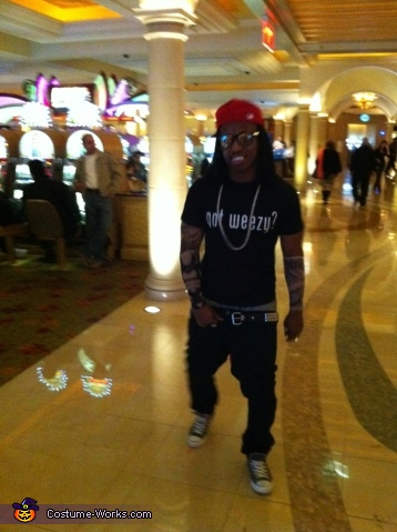 Weezy F in the Casino, Lil Wayne Costume