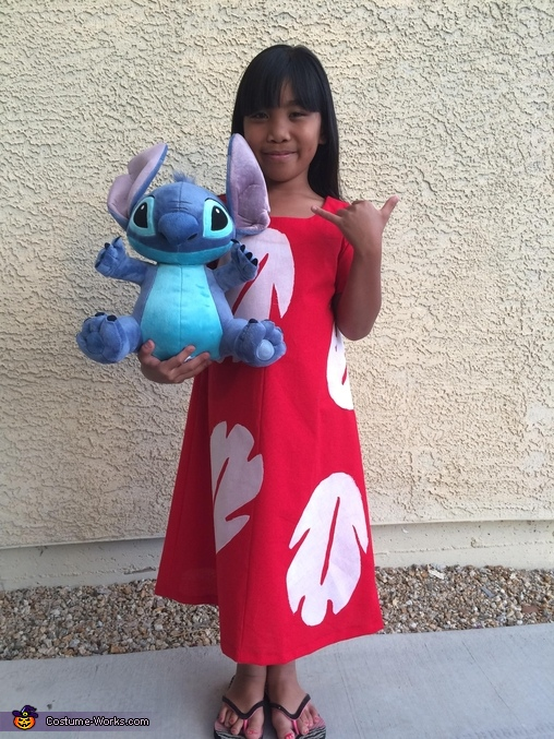 Homemade Lilo Costume