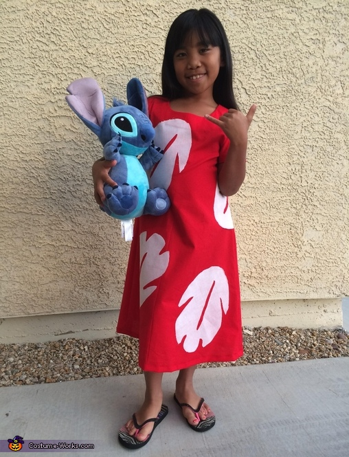 Lilo Homemade Costume