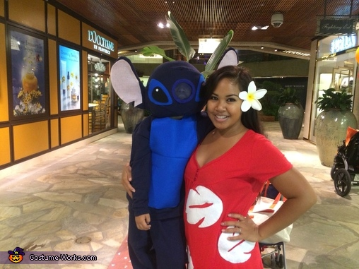 Stitch and lilo, Lilo and Stitch Characters Family Costume