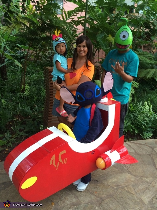 Lilo and Stitch Characters Family Costume