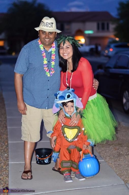 Lilo And Stitch Family Costume