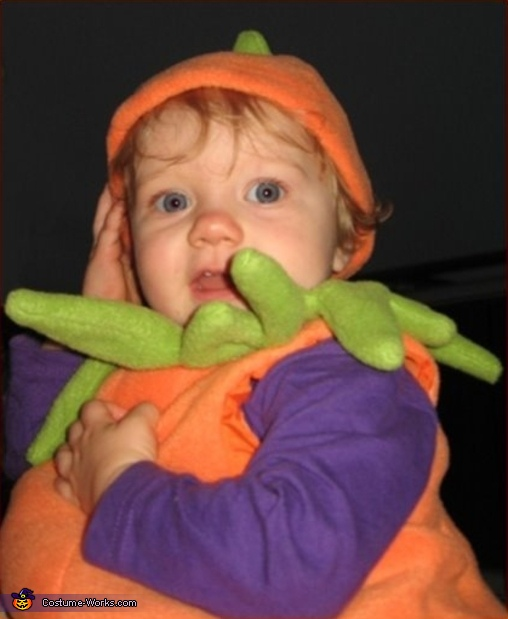 Lil Jack-o-Lantern - Homemade costumes for babies