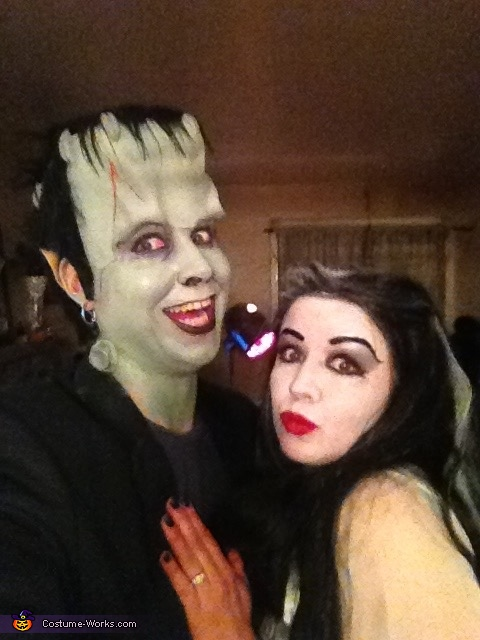 Lily and Herman Munster, Lily and Herman Munster Costume