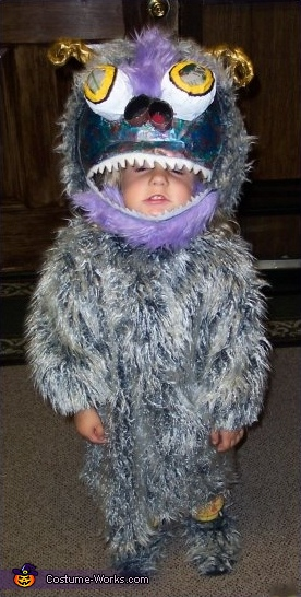 Lily Monster - Homemade costumes for babies