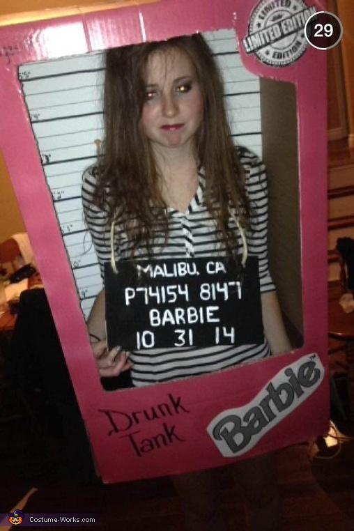 drunk tank barbie, Limited Edition Barbies Group Costume