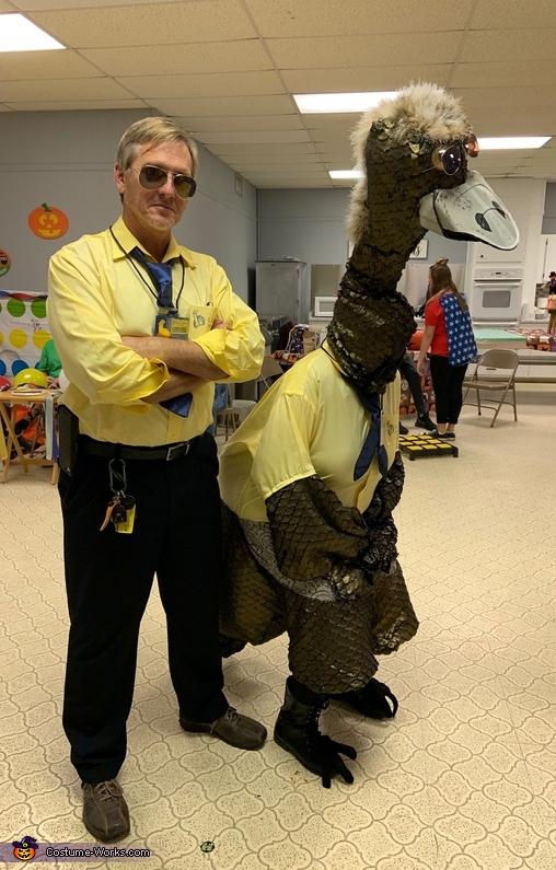 Limu Emu and Doug Costume
