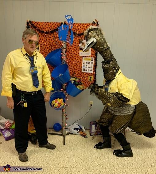 Limu and Emu protecting you, Limu Emu and Doug Costume