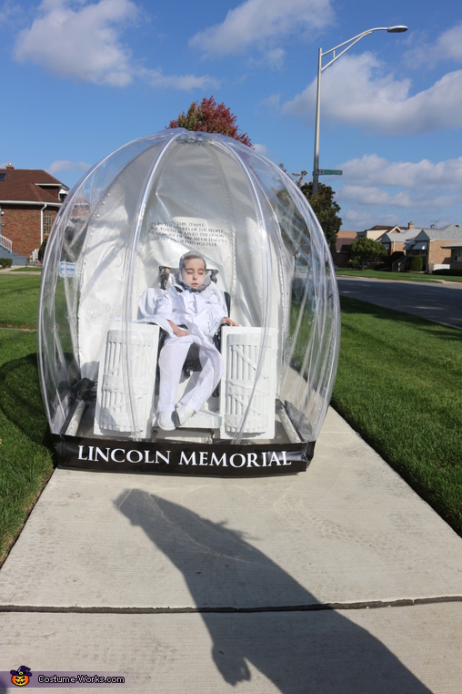 Lincoln Memorial Snow Globe Homemade Costume