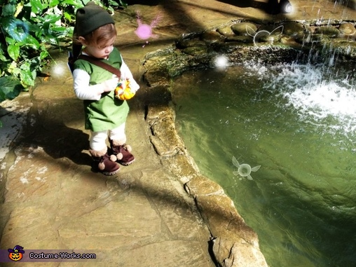 Water Temple., The Legend of Zelda Link Costume