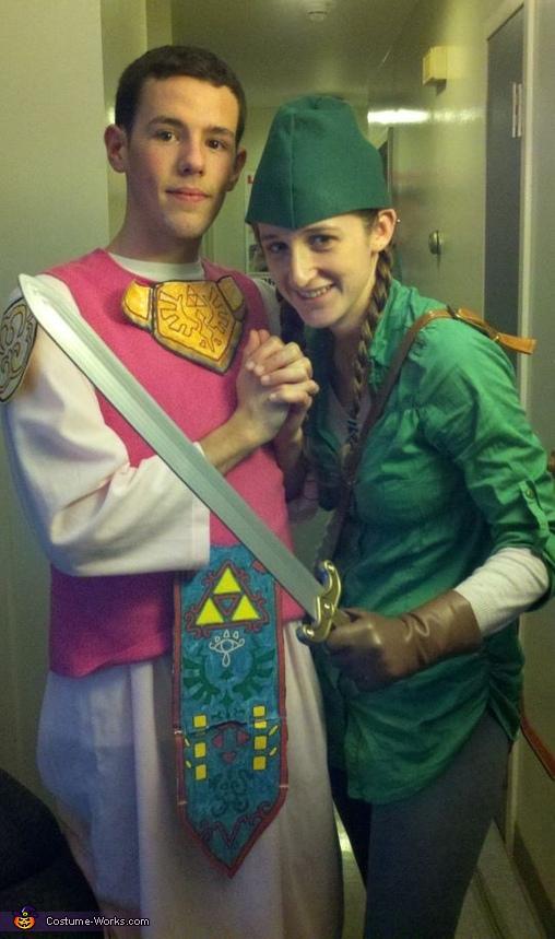Link and Princess Zelda Costume
