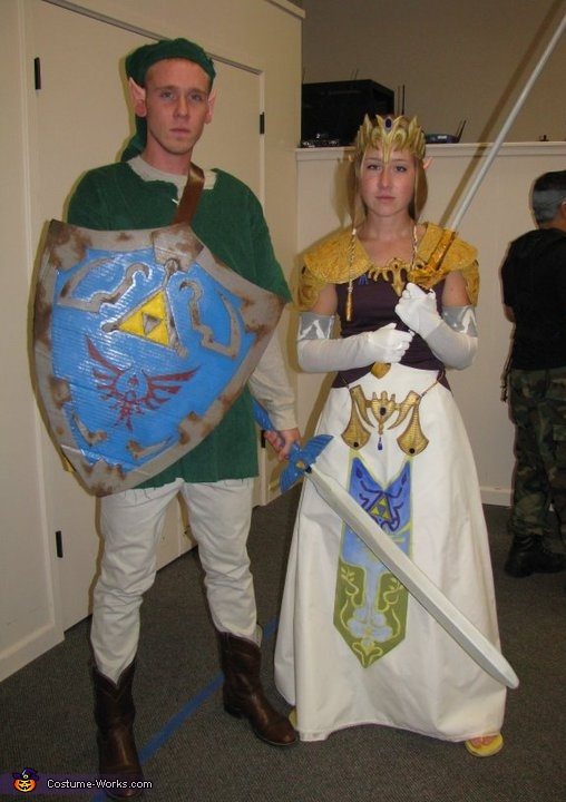 Link and Zelda Costumes