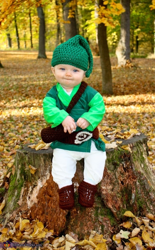 Link from The Legend of Zelda Baby Costume