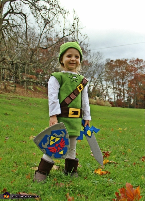 The Legend of Zelda Link Costume  sc 1 st  Costume Works & The Legend of Zelda - DIY Link Costume for Kids