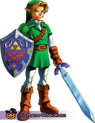 Reference for the costumes, Link from the Legend of Zelda Costume