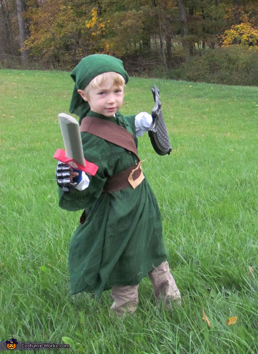 Link from Zelda Costume