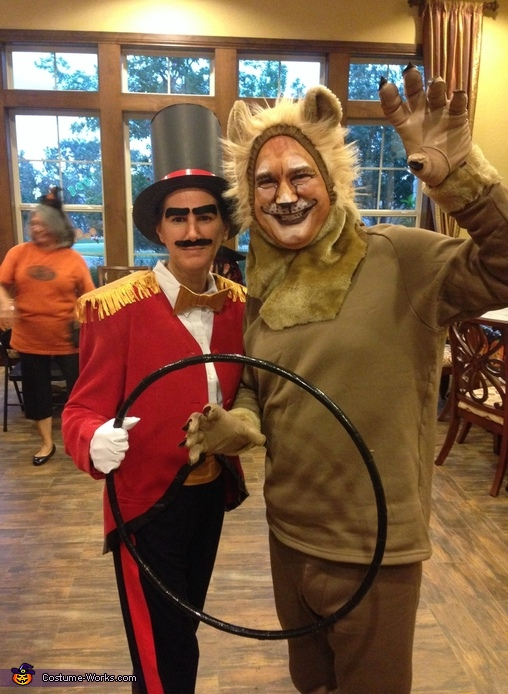 Lion and Lion Tamer Costume
