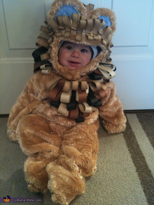 Baby Lion - Homemade costumes for babies