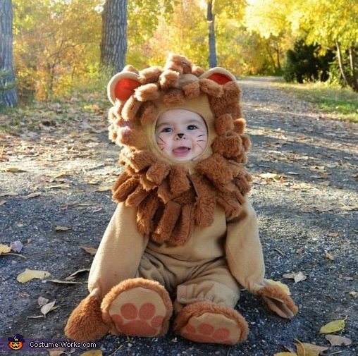 Lion from Wizard of Oz Baby Costume