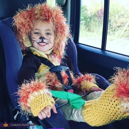 Lion Girl Costume