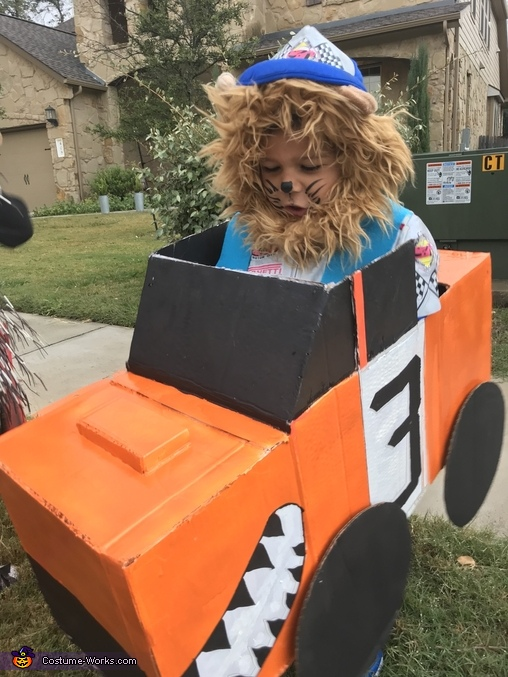 Lion Monster Truck Driver Costume