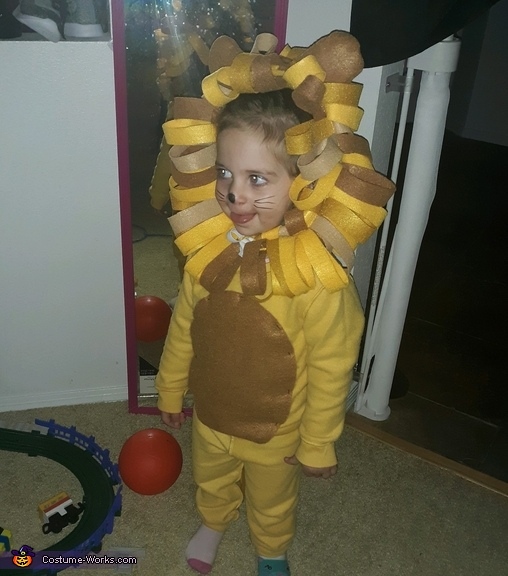 Lion Tamer and Lion Homemade Costume