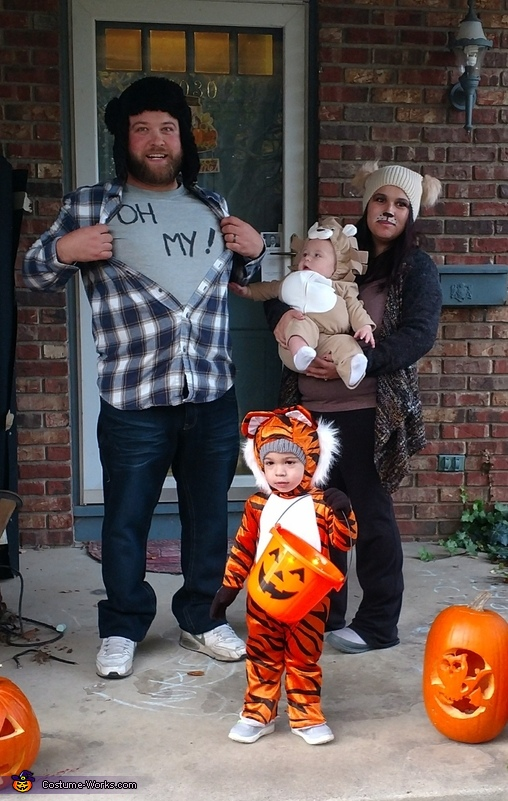 Lion, Tigers, Bears Oh My! Costume