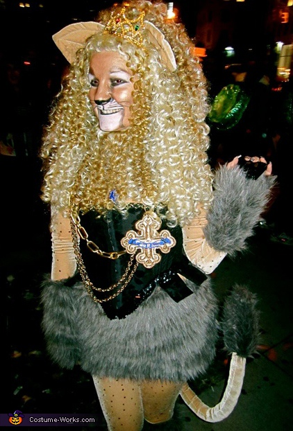 Cowardly Lioness - Homemade costumes for women