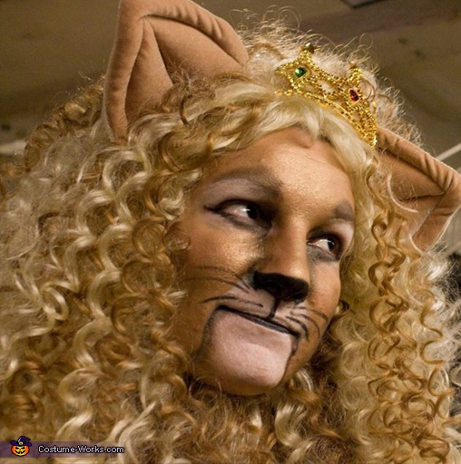 Cowardly Lioness Costume - Homemade costumes for women