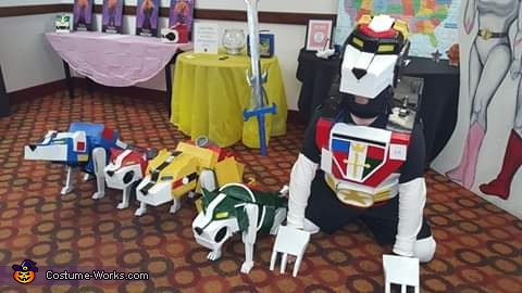 Lions of Voltron Homemade Costume