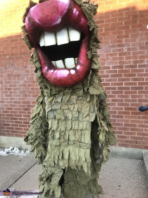 Lip Monster Costume