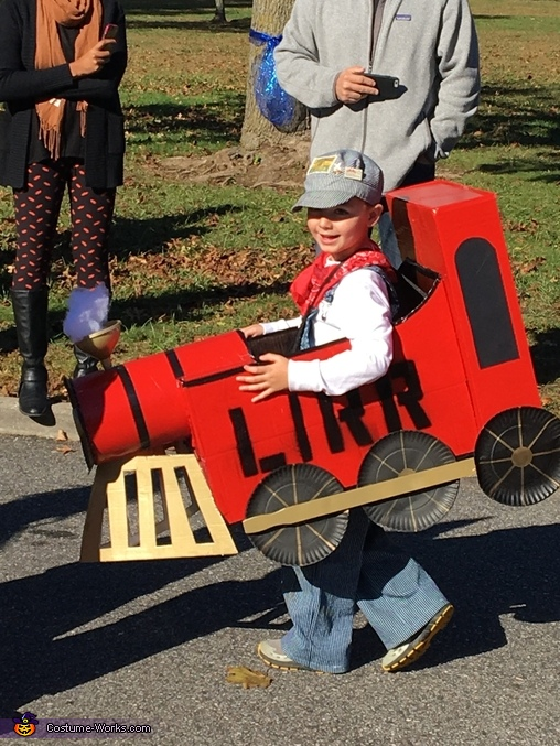 LIRR Steam Engine, LIRR Steam Engine Costume