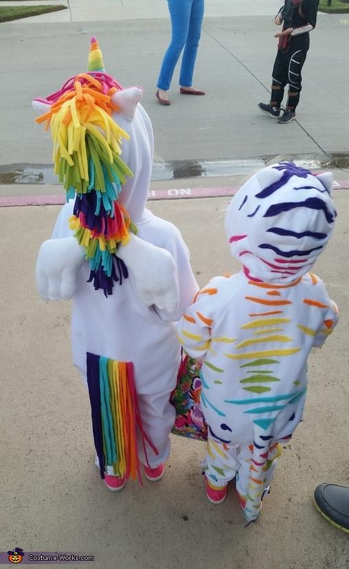 Tails!, Lisa Frank Crew Costume