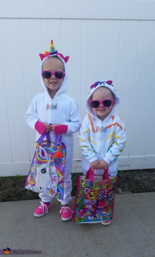 Matching treat bags, Lisa Frank Crew Costume