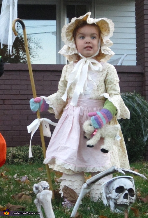 Little Bo Peep - Homemade costumes for girls