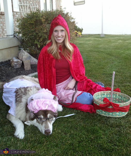 Little Red Riding Hood & Wolf - Homemade costumes for women