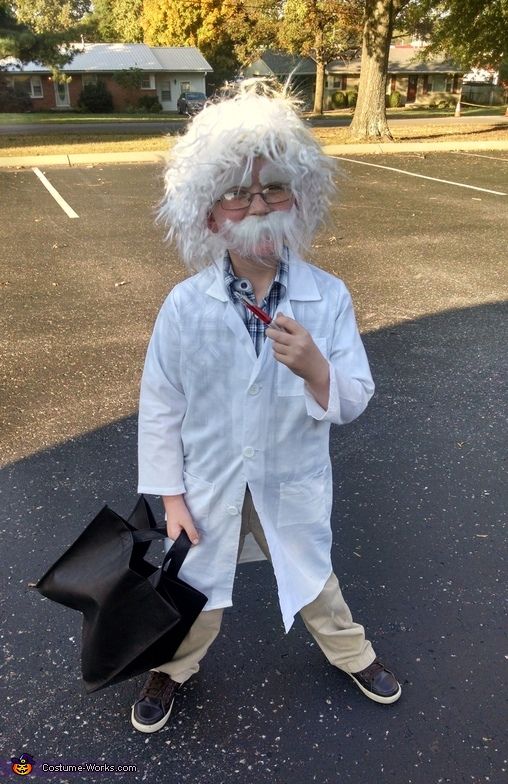 Little Albert Einstein Costume