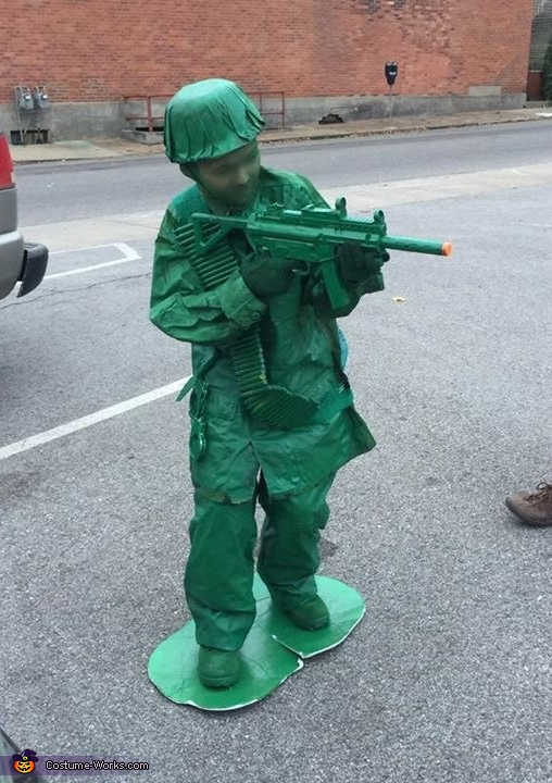 Little Army Guy Costume