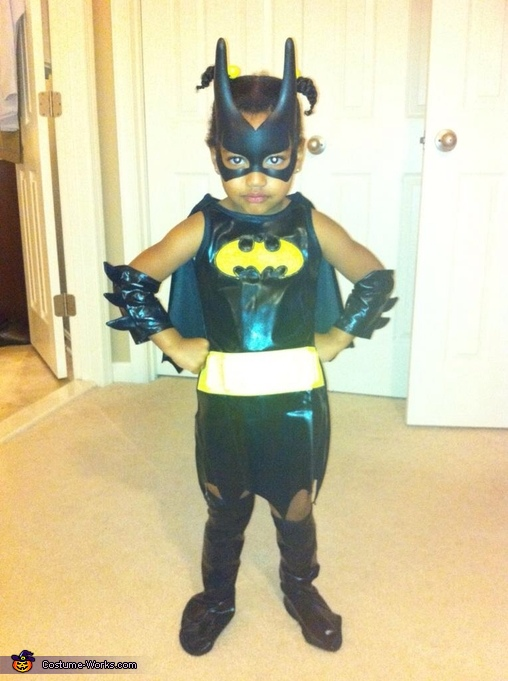 Little Bat Woman Costume