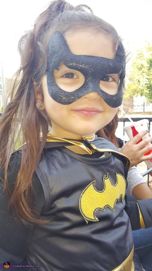 My batgirl, Little Batgirl Costume