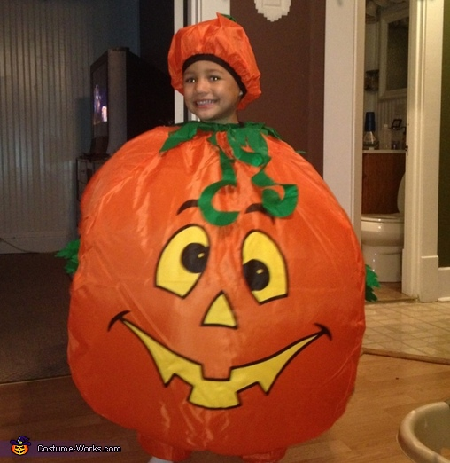 Little Big Pumpkin Costume